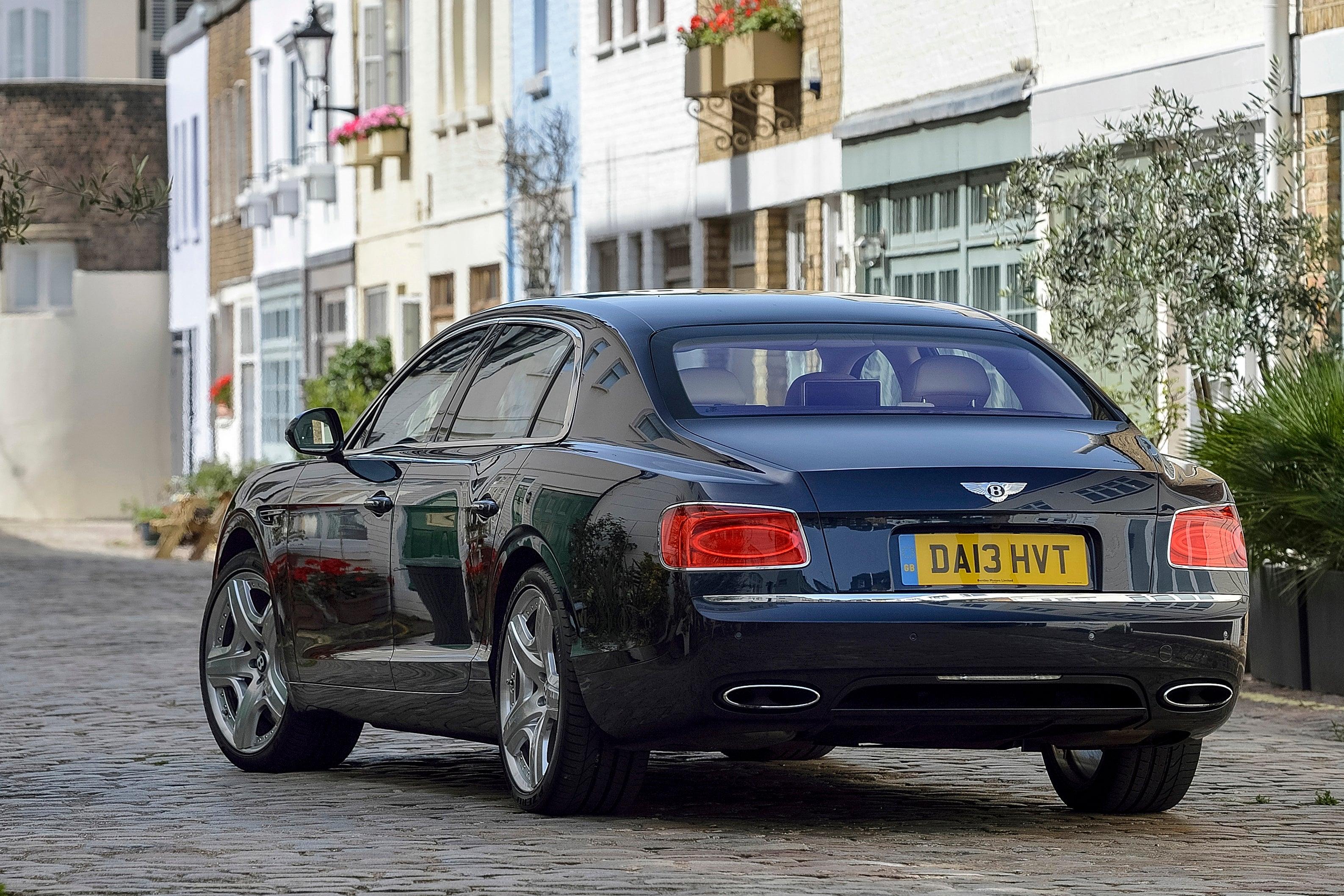 Bentley Flying Spur Exterior Back